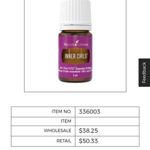 New Young Living Inner Child essential oil